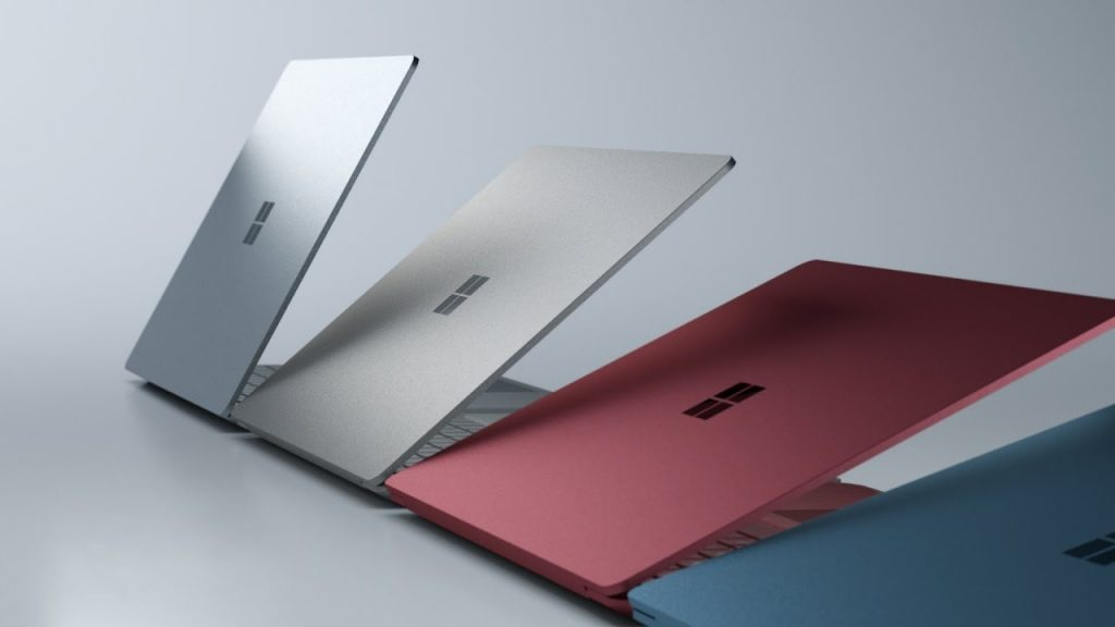 Surface Laptop with multiple color bodies